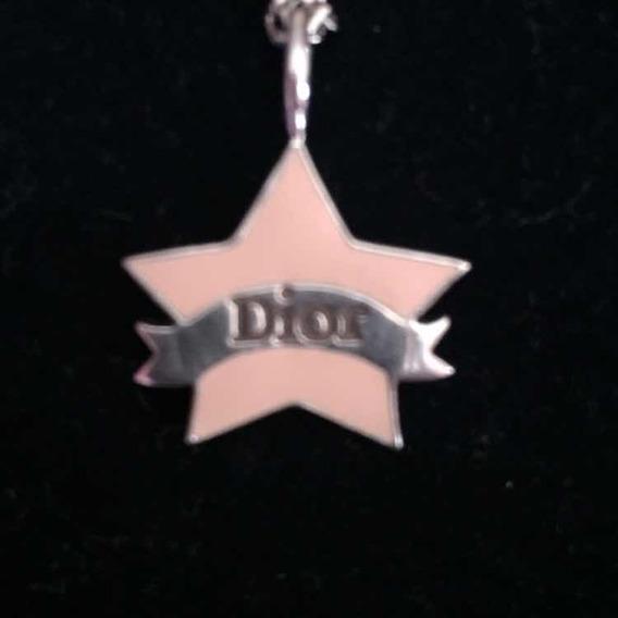 Corrente Com Pingente Estrela Chrstian Dior