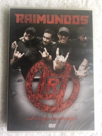 Dvd Raimundos - Cantigas De Garagem (frete Grátis) Novo