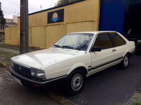 Volkswagen Santana Gls Placa Preta 1987
