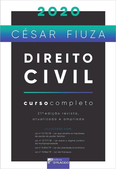 Direito Civil - Curso Completo 2019 - 20º Edição - Fiuza