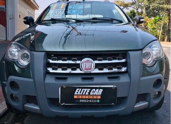 Fiat Strada 2011-1.8-16v Adventure Cab Dupla Flex Completa
