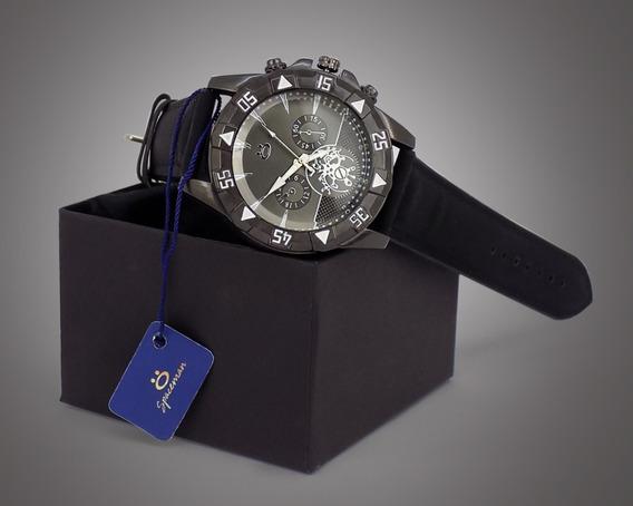 Relógio Masculino Preto 100% Original Promoção + Caixa
