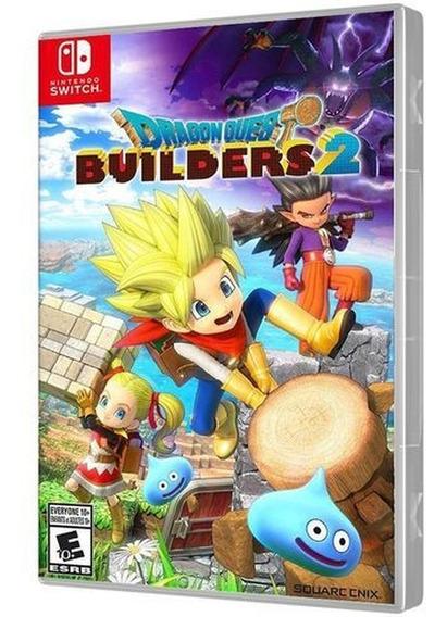 Dragon Quest Builders 2 Switch Mídia Física Usado