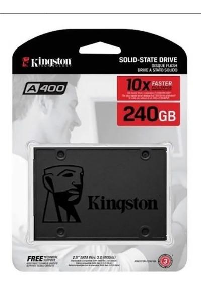 Hd Ssd Kingston 240gb A400 Sata 3 Rev 3.0 Original