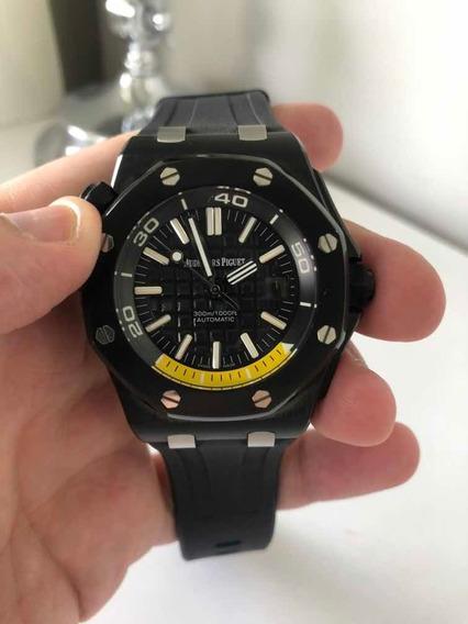 Relógios Ap Royal Oak Offshore Automatico Com Estojo E Manua