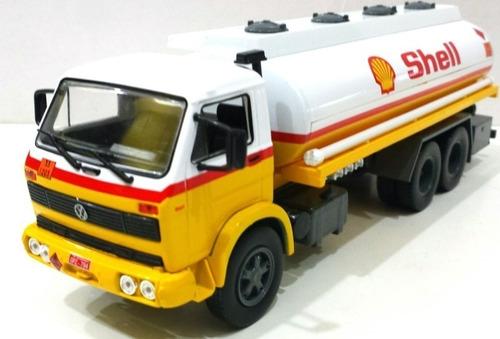 Imagem 1 de 5 de Miniatura Caminhão Vw 13130 Shell Escala 1/43
