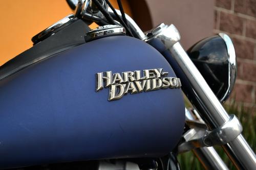 Imagen 1 de 15 de Poderosa Harley Davidson Dyna Street Bob 1584cc, 6 Vel.