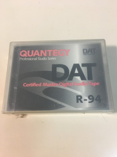 Cassette Dat Quantegy R-94 Profesional