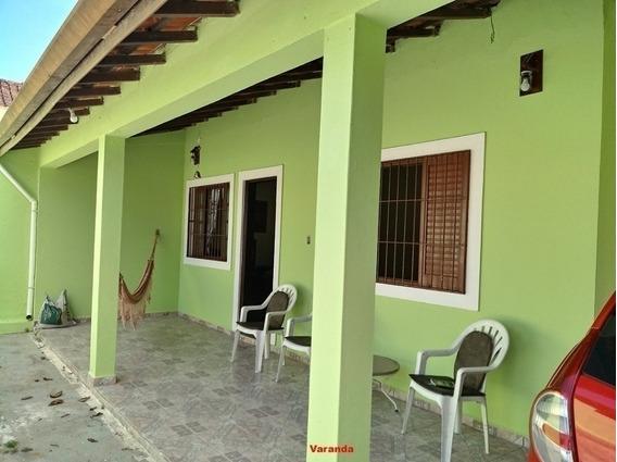 3905-casa Mobiliada 3 Dormitórios 500 Metros Da Praia Itanhé