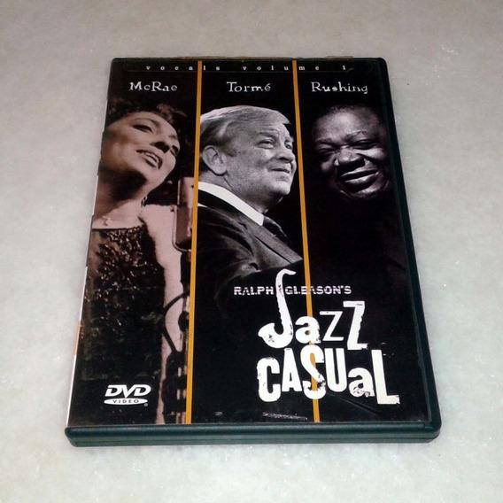 Dvd Jazz Casual - Vocals Volume 1 - Usado Original Usa