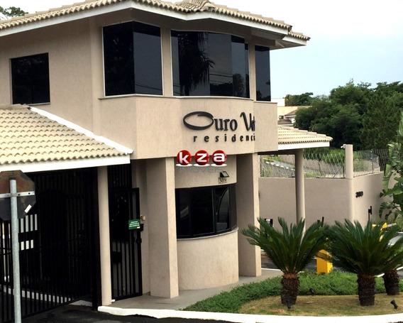 Terreno 500 Metros Condomínio Ouro Verde Valinhos - Te01030 - 33386366