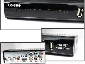 Conversor Digital Wi-fi Yotube + Antena Digital Completa