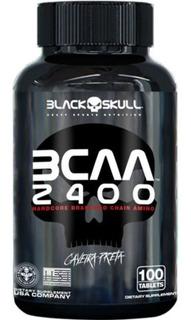 Bcaa 2400 - 100 Tabletes- Balck Skull