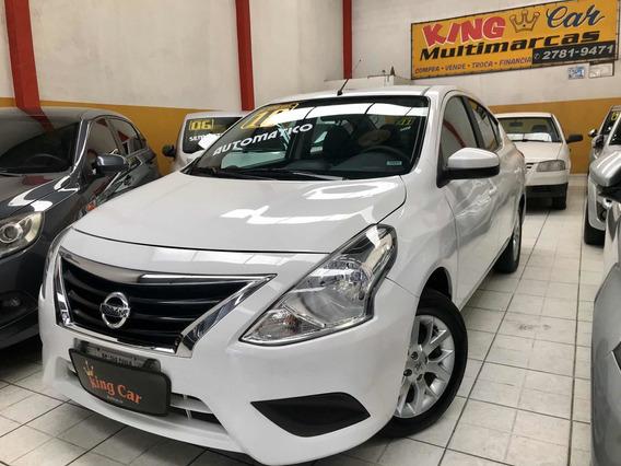 Nissan Versa 1.6 Sv Automático 2018 Kingcar Multimarcas