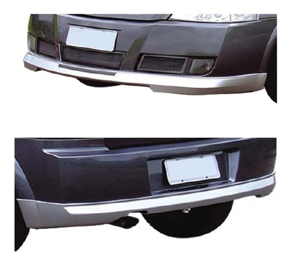 Astra Hatch Spoilers (saias) Dianteiro+traseiro Tgpoli 03/12