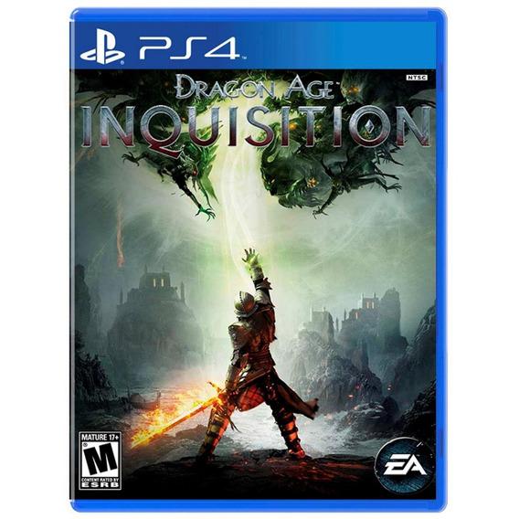 Dragon Age Inquisition - Ps4 - Mídia Física - Novo