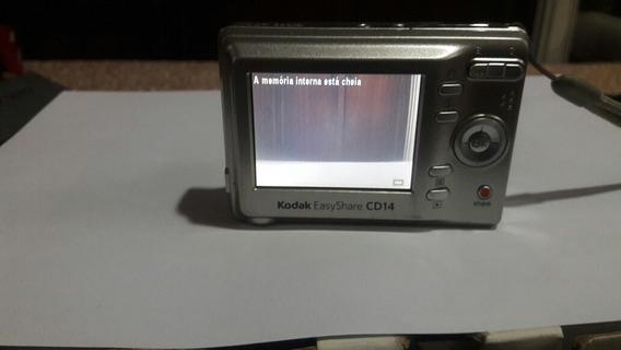 Camera Digital Kodak 8.2 Cd 14 Leia A Descricao