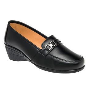Zapatos Oxford Casual Niñas Negro Florenza Piel Udt 26287