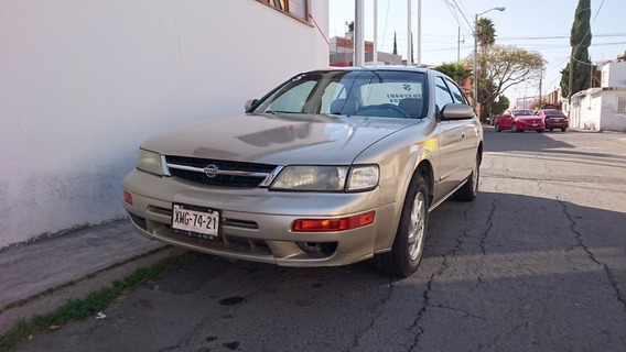 Nissan Maxima Gle-1 Sedan Piel Abs Qc At 1999