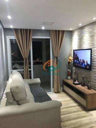 Apartamento Com 3 Dormitórios À Venda, 59 M² Por R$ 385.000,00 - Jardim Imperador - Guarulhos/sp - Ap1981