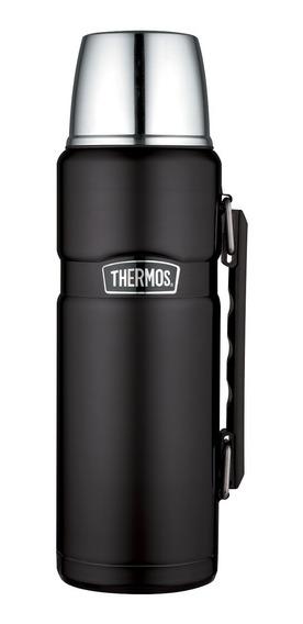 Termo Liquido King Acero Inox 1,2 Litros Negro - Thermos