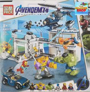 Set Avengers Endgame Batalla Final Tipo Lego / End Game