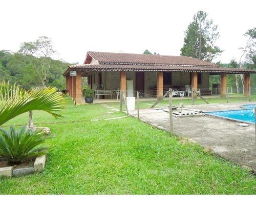 Imagem 1 de 30 de Chácara Completa, Bem Localizada A 800m Da Rodovia À Venda Em Juquitiba/sp! - 57 - 32982578