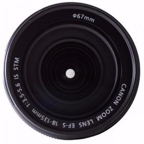 Lente Canon 18-135mm F/3.5-5.6 Is Stm Ótimo Estado