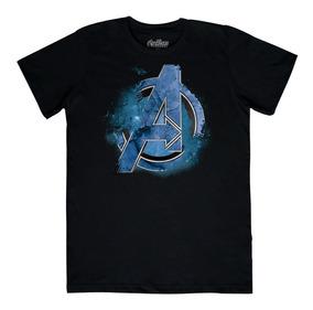 Playera Mascara De Latex Avengers Logo 2 Avengers Endgame