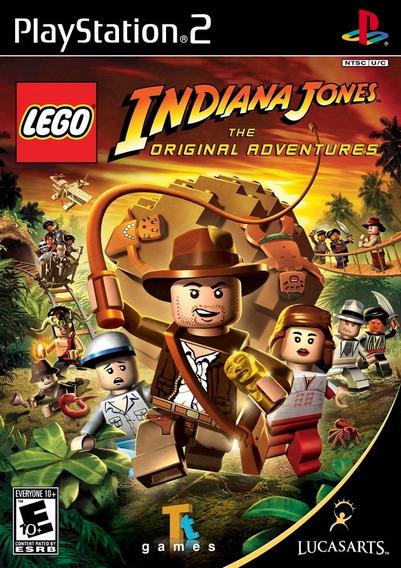 Lego Indiana Jones +brinde Lego Batman (frete Grátis) Play2