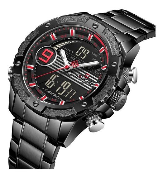 Relógio Masculino Naviforce Esportivo Lançamento 9146s