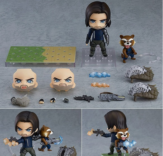 Nendoroid Avengers Winter Soldier Edition Dx Pre-order