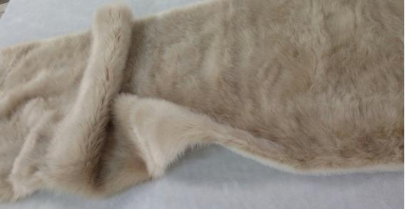 Manta Pele Sintética 2,40 X 2,60 Qualidade Conforto Macio Requinte. Ideal Para Sofás Camas Decoração 100% Poliéster
