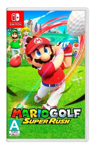 Imagen 1 de 4 de Mario Golf: Super Rush Para Nintendo Switch