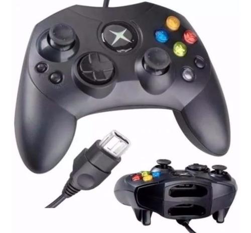 Control De Xbox Clasico Negro Consola Caja Negra