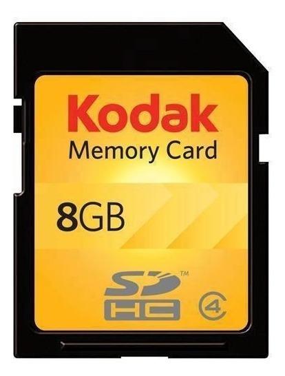 Cartão De Memória Sdhc Kodak 8gb Classe 4 Original