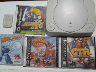 Playstation 1 Con Memory Card