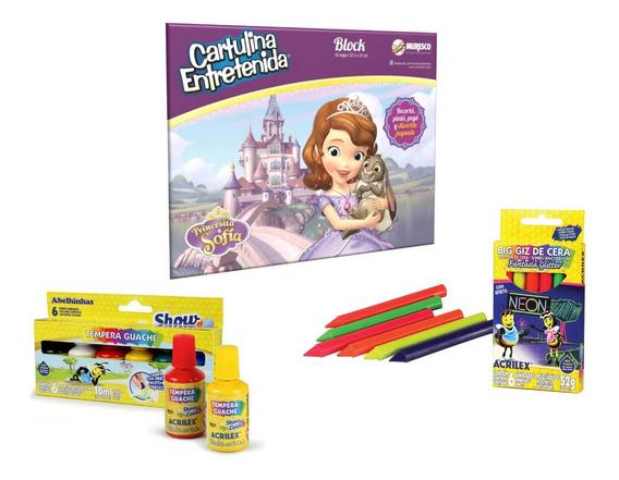 Kit De Arte Para Jugar Princesa Sofia Disney Muresco