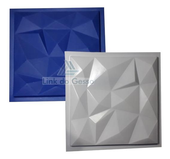 Forma Molde Gesso Placas 3d Plastico + Eva Diamantes Lg0015