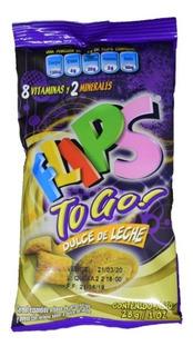 Cereal Relleno Flips To Go Dulce De Leche Bolsita 28gr X 12