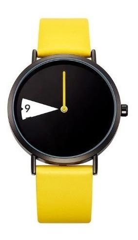 Relógio Amarelo Moda Estilo Bolsonaro Brasil