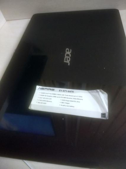 Acer E1 - 571 Peças - Processador, Carcaça, Dobradiças, Etc
