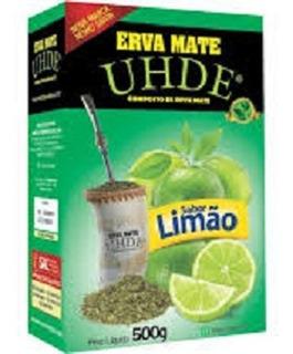 Erva Mate Uhde Limão 500 Gramas
