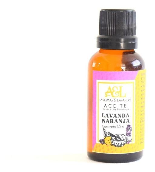 Aceite Para Masaje Relajante De Lavanda Y Naranja