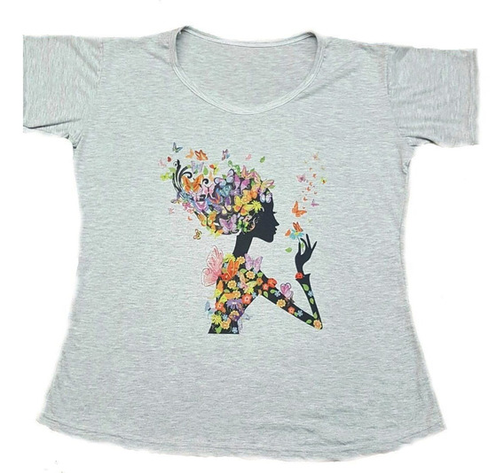 Remeras Sublimadas Estampadas Mujer T. Especiales (pack X12)