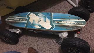 Skate Eletrico Drop 1600w 2 Motores Usado