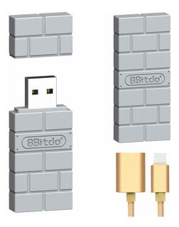 Xammbox 8bitdo Adaptador Inalámbrico Bluetooth Para Nintendo