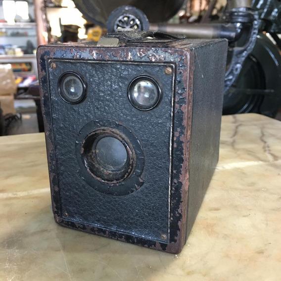 Câmera Fotográfica Antiga Caixão Agfa Fotografia 209