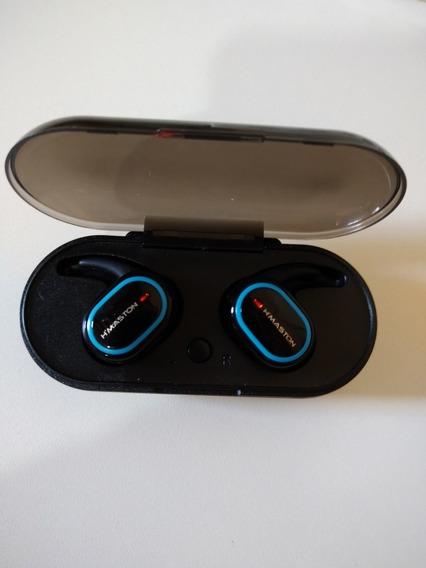 Fones De Ouvido Bluetooth Touch Com Case H`maston Ly-103