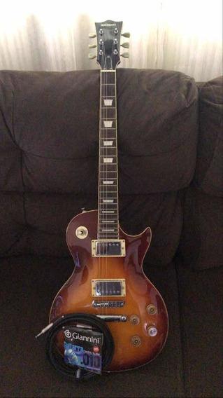 Guitarra Michael Gm3 Vai Com Cabo E Cordas Novas